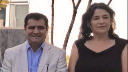 Máximo Picallo y Javiera Montes, gerenta general de Achiga