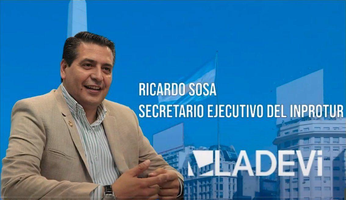 Ricardo Sosa, secretario ejecutivo de Inprotur Argentina, destacó la estrategia
