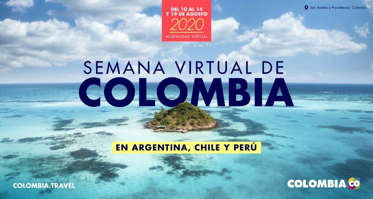 Semana Virtual de Colombia.