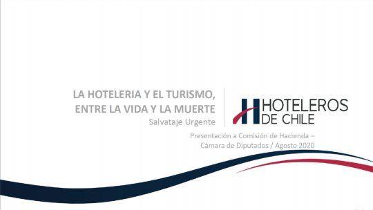 Hoteleros de Chile exige salvataje urgente para la hotelería