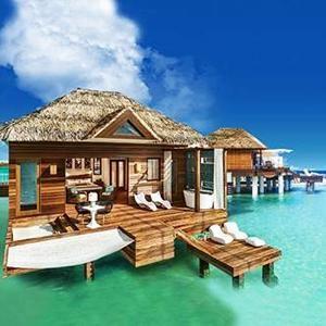 SANDALS RESORTS. Nuevos bungalós sobre el agua en Jamaica