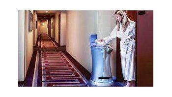Hoteles: el robot mayordomo que hace delivery