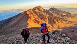 Los picos montañosos de Jujuy representan un desafío para cualquier deportista.
