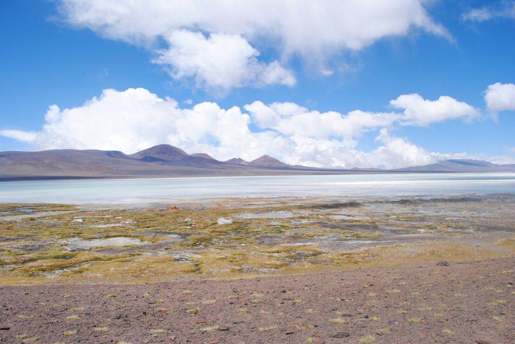 La laguna Brava está rodeada de numerosos picos volcánicos y cuenta con una imponente flora y fauna.