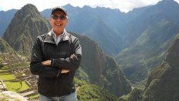 El autor, Alberto Sánchez Lavalle, director editorial de La Agencia de Viajes Latinoamérica.