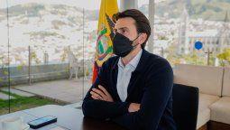 Niels Olsen busca convertir a Ecuador en el primer país de la región en vacunar a todo el sector turístico.