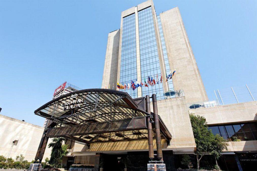 El hotel Crowne Plaza de Santiago estaba cerrado desde noviembre de 2019.