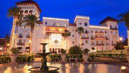 Situada en St. Augustine, Florida, Casa Monica es uno de los hoteles más antiguos de Estados Unidos.