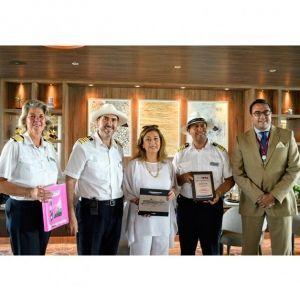 VIAJES AMAZONAS. Arribó a Ecuador el barco Celebrity Flora