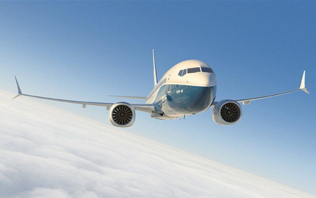 El Boeing B-737MAX 8.