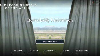 Leading Hotels presentó un nuevo portal para profesionales