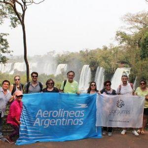 AEROLÍNEAS ARGENTINAS. Camaradería y premiaciones en un escenario único