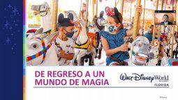 Alejandro Flores, Senior Sales Manager México de Disney Parks, en el evento de Walt Disney World.