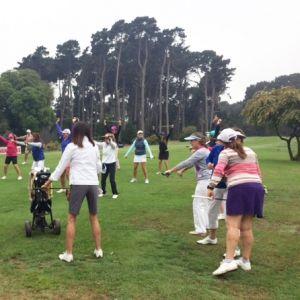 SANDALS. Destacada participación en el Torneo de Golf Vanidades