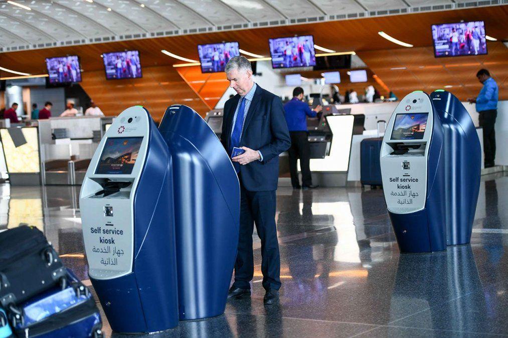 """""""Self Service Kiosk"""" de SITA, un adelanto del aeropuerto del futuro."""