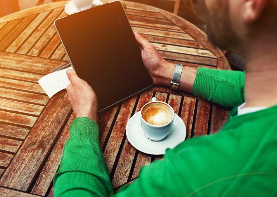 Leyendo la borra del café