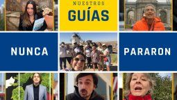 """Los guías de Europamundo nunca se detuvieron, manteniéndose activos como """"guías solidarios"""" en el llamado """"Proyecto Refugio""""."""