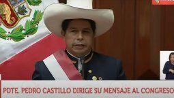 Pedro Castillo anunció un programa de financiamiento para el turismo.