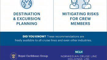 NCLH Y ROYAL CARIBBEAN. Nuevas recomendaciones para el regreso de cruceros