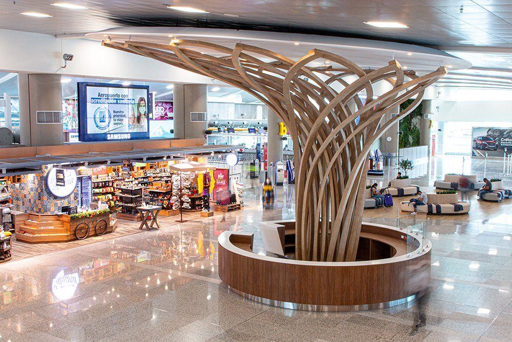 Con una inversión de US$ 2.18 millones se concretó la remodelación del Aeropuerto de Quito.