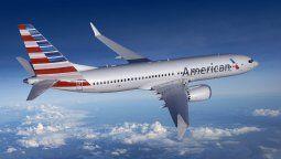 Boeing B-737MAX de American Airlines.