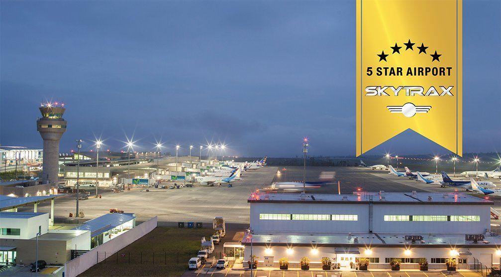 Calificado con 5 estrellas por Skytrax