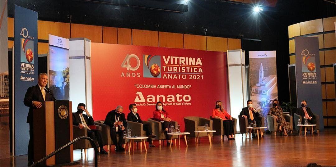 Argentina fue país Invitado de Honor en la Feria Vitrina Turística Anato 2021.