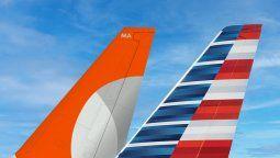 American Airlines profundiza su alianza con Gol.