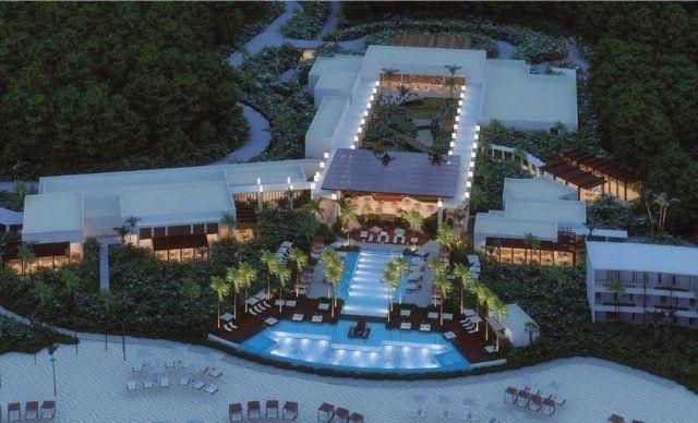 El lujoso Conrad Tulum de 349 habitaciones, de nueva construcción, será el primer hotel de Conrad Hotels & Resorts en Quintana Roo.