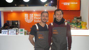 Sesiones de cocina inteligente y marca global