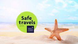 Safe Travels busca que se implementen medidas complementarias anti Covid.19 en el turismo.