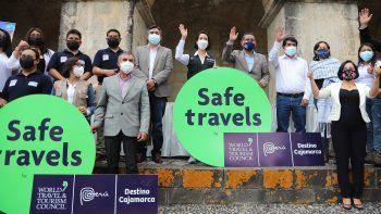 Mincetur entrega sello Safe Travels a dos destinos