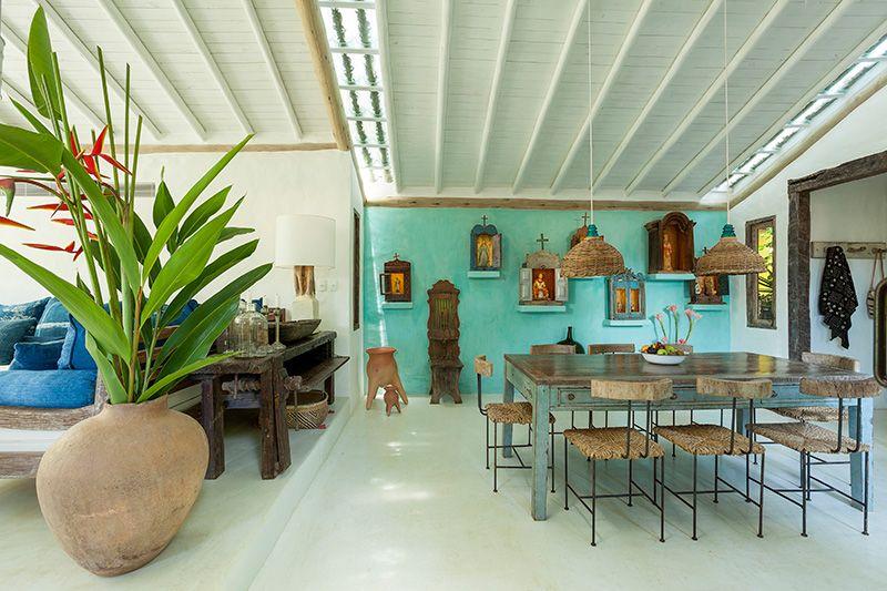 El Uxua Casa Hotel & Spa propone una experiencia de lujo informal, donde el diseño domina la escena.