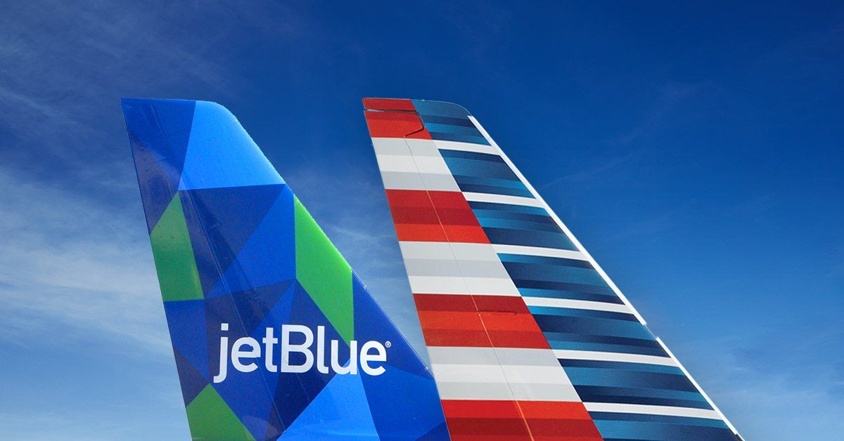 American y JetBlue: la unión hace la fuerza.