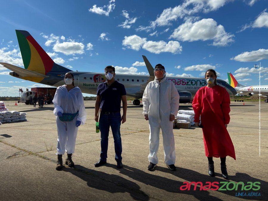 AMASZONAS. Apertura de vuelos naciones e internacionales