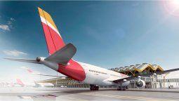 El A350, eje de la flota de largo recorrido de Iberia, como quedó evidenciado en Fitur.