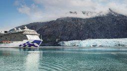 Princess Cruises reanudará la operación de cruceros en Alaska.