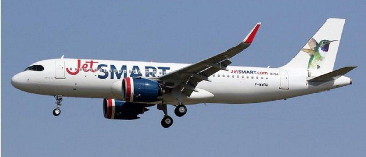 JETSMART. Reanudan rutas a Colombia, Perú y Argentina