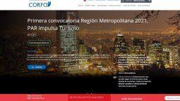 La primera convocatoria de Par Turismo 2021 de Corfo ya está abierta.