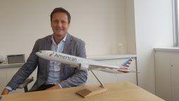 Duncan Paterson, gerente de Ventas de American Airlines para Sudamérica.