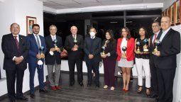 Evento Premio al Turismo Captur 2021 en Ecuador en el cual se destacó Ladevi Medios y Soluciones.
