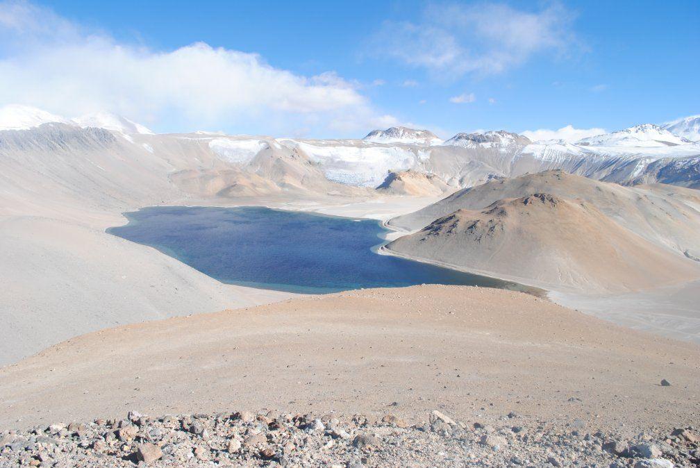 El cráter Corona del Inca