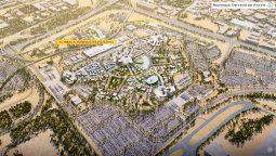 En Dubái, la Expo 2020 ocupará un predio de 400 hectáreas.