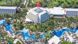 El complejo de Oasis Hotels & Resorts en Cancún fue sede del Beach Volley Ball World Tour