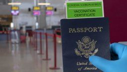 Estados Unidos no implementará un pasaporte sanitario.