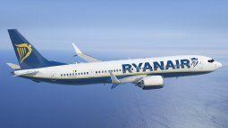 Uno de los Boeing B-737MAX de Ryanair.