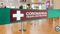 Estados Unidos emitió una serie de restricciones a los viajes.
