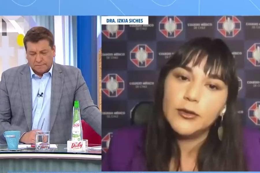 Izkia Siches habló en el matinal de CHV.