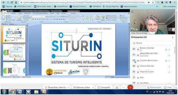 Mintur capacitó al sector hotelero para dar a conocer cómo funciona la plataforma Siturin.