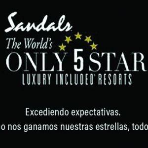 SANDALS RESORTS. Una nueva campaña publicitaria 5 estrellas